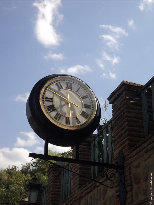 В Сигнахи время останавливается : )