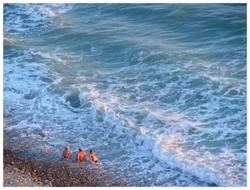 В Анапе введен временный запрет на купание в море