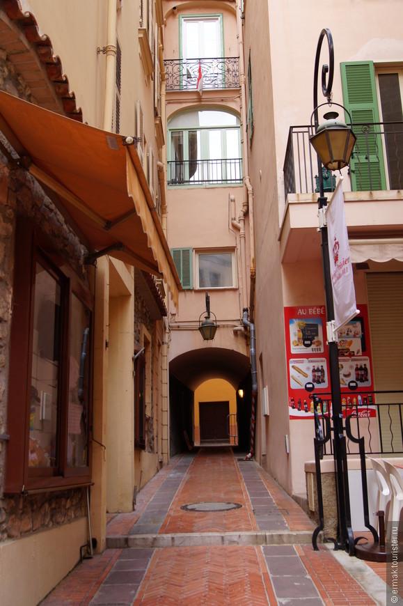 на улицах Монако