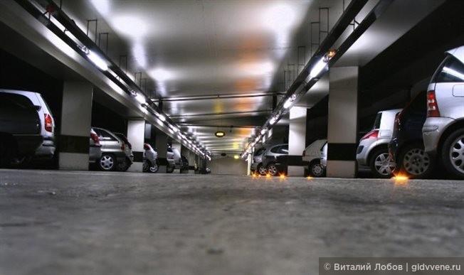 Правила парковки автомобиля в Вене