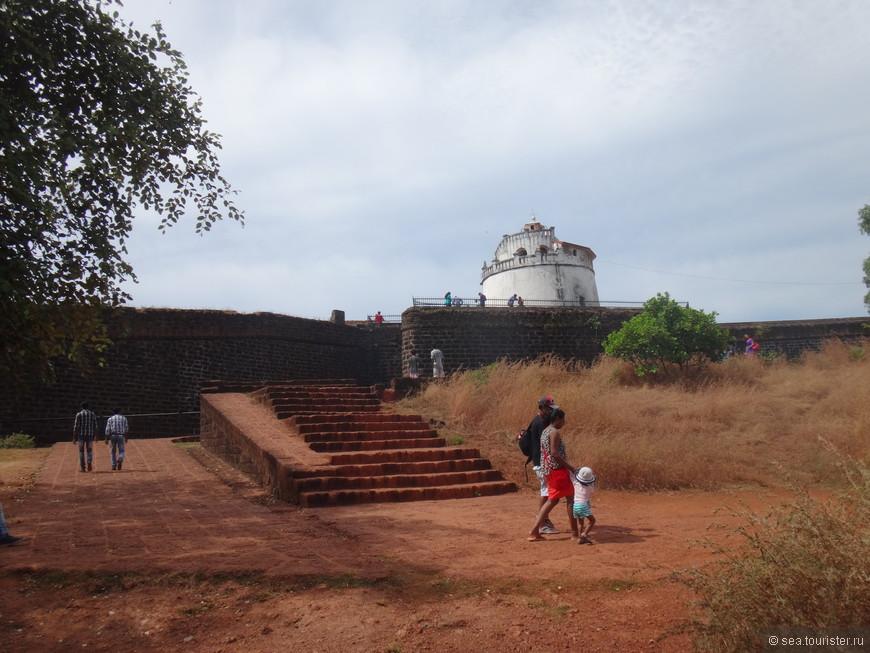 покидаем форт Агуада