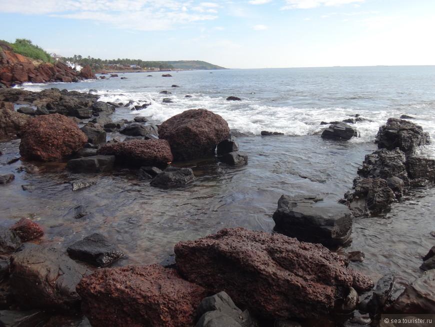 во второй половине дня мы отправились на поиски Шивы к пляжу Вагатор