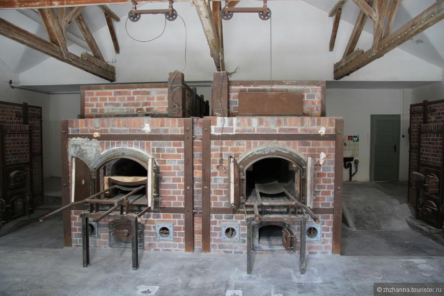 Печи крематория для сжигания трупов