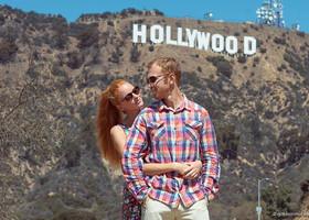 Лос-Анджелес — Аллея звезд, знак «Голливуд» и Беверли-Хиллз