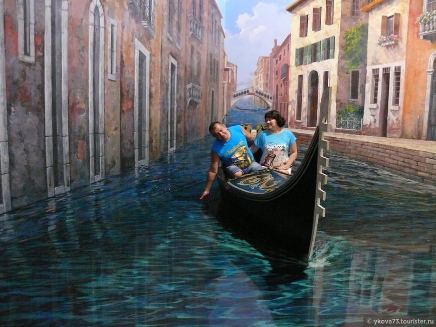 """""""венецианская гондола  (сразу создается ощущение, что вы находитесь в самом романтичном месте на Земле)"""""""