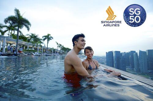 Внимание! Конкурс #SG50 2 билета в Сингапур