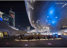 Футуристический Сеул XXI века (Южная Корея)