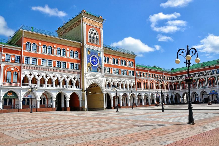Здание Национальной галереи, г. Йошкар - Ола
