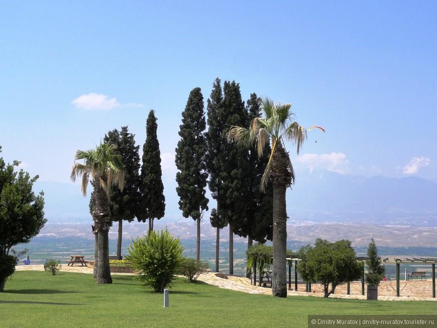 Вид на долину Памукалле