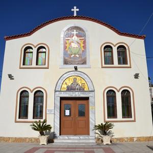 Сфотографировали церковь св. Архангелов Михаила и Гавриила.