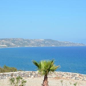Ещё одним пунктом нашей программы был пляж Парадисос.