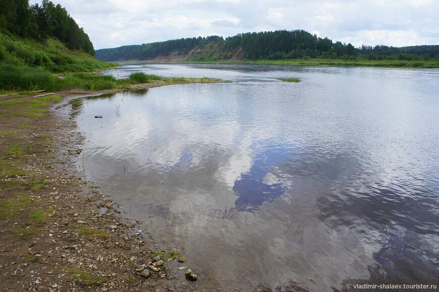 Река Сухона.
