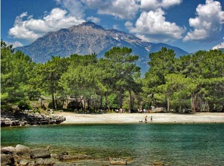 Лучшие пляжи Кемера