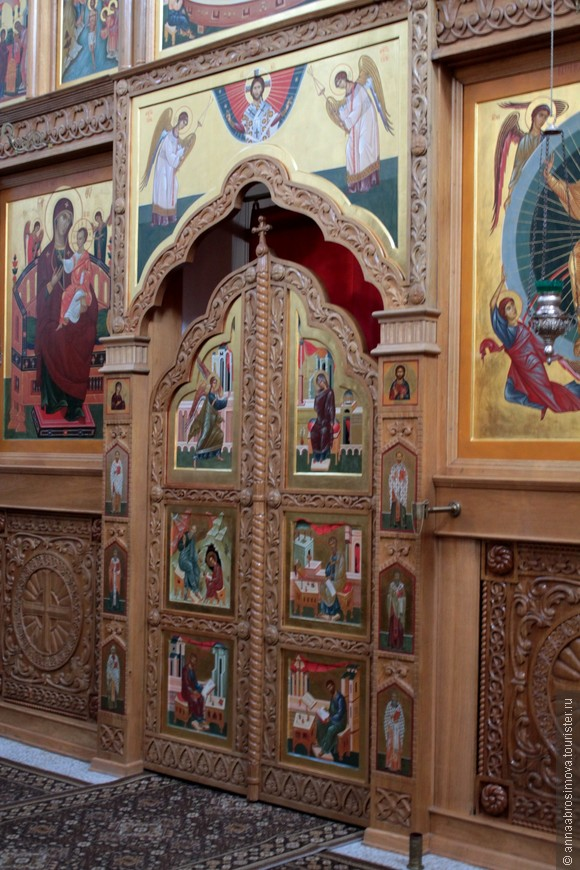 Царские врата собора Вознесения Господня