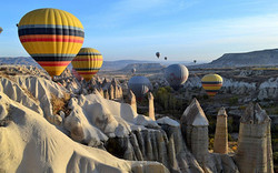 Авария с воздушным шаром в Каппадокии