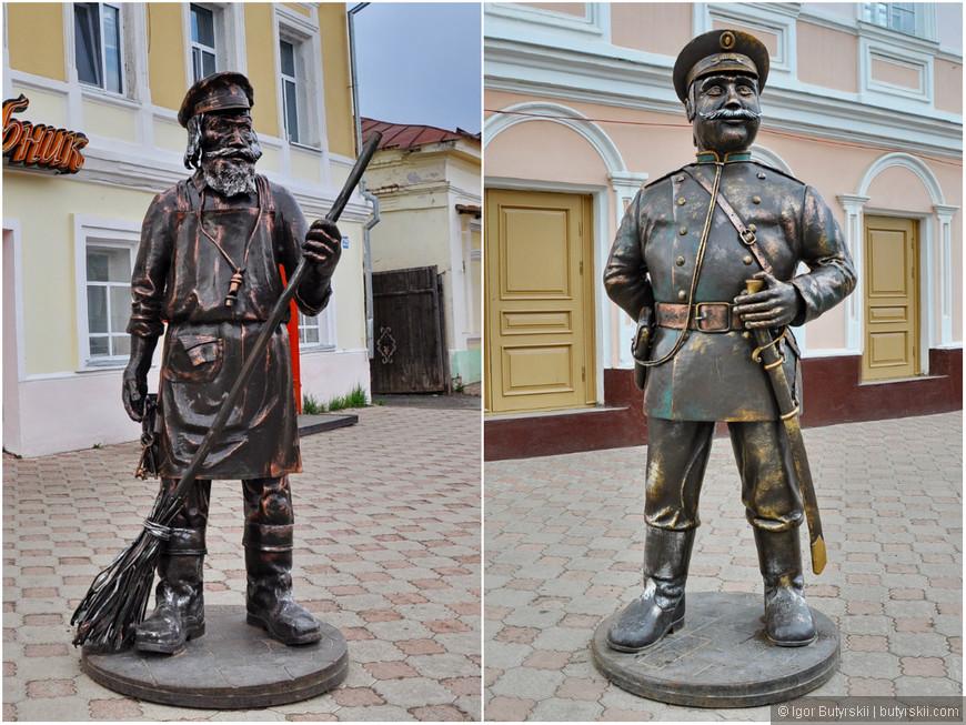 06. Более «классические» городские статуи.