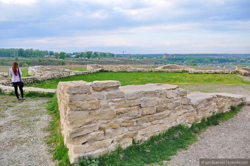 37. Остатки древнейшего городища.