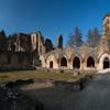 Развалины монастыря Орвал