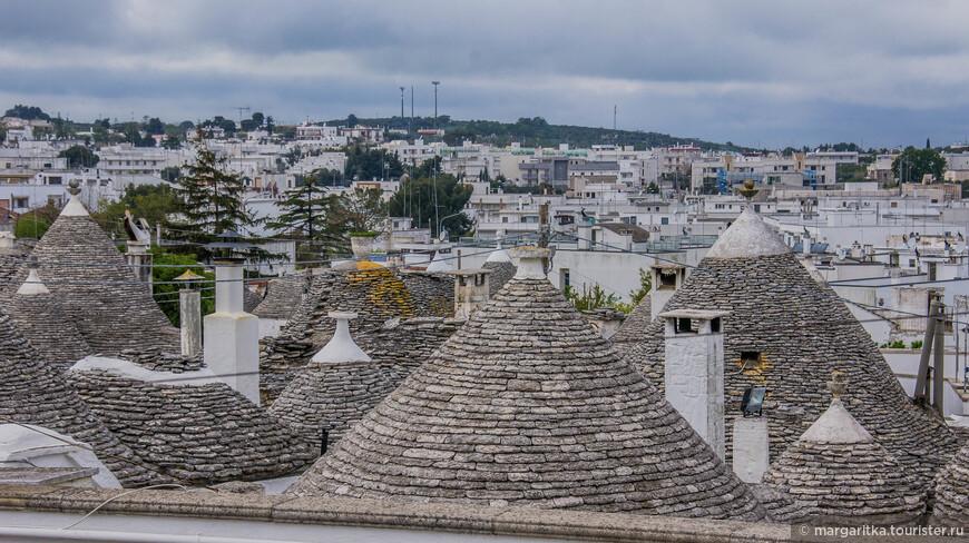 вид на крыши Альберобелло