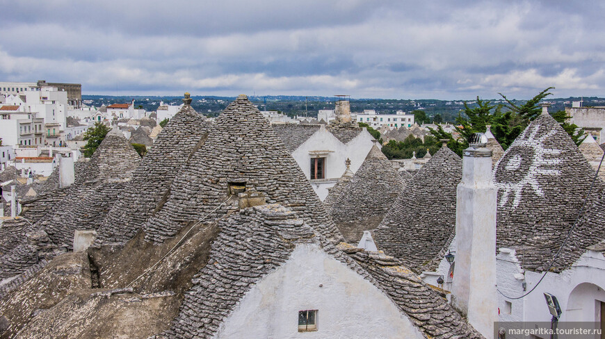 разбираемо-собираемые в старину крыши Альберобелло