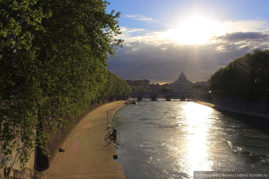Рим прекрасен в любую погоду
