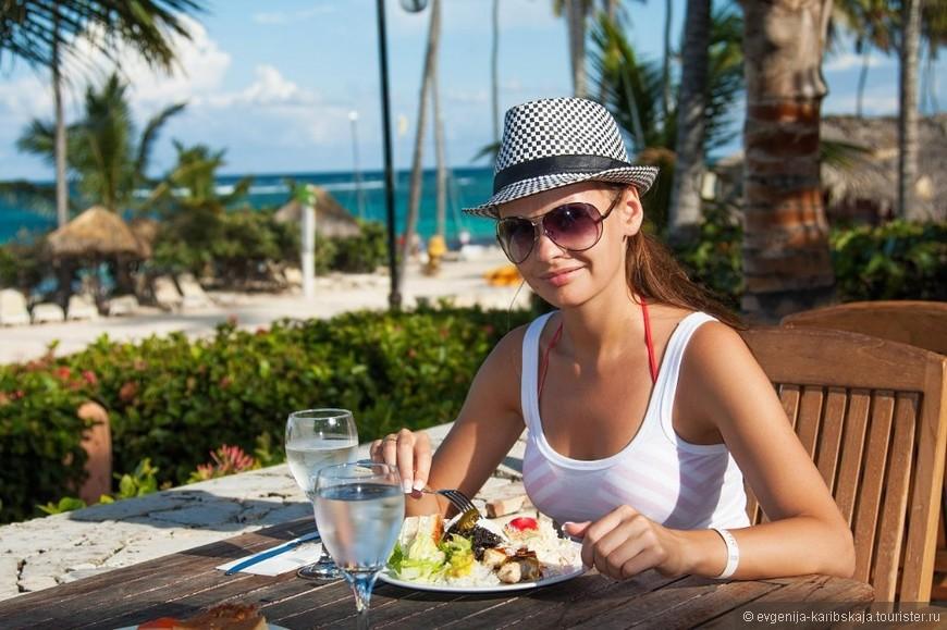 Еда наивкуснейшая в Доминикане! Выбирайте отели поменьше и сервис обеспечен на высшем уровне!
