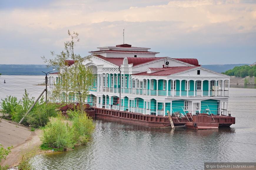 27. Дом на дебаркадере оказался одним из самых красивых в городе, Челны меняют стереотипы.