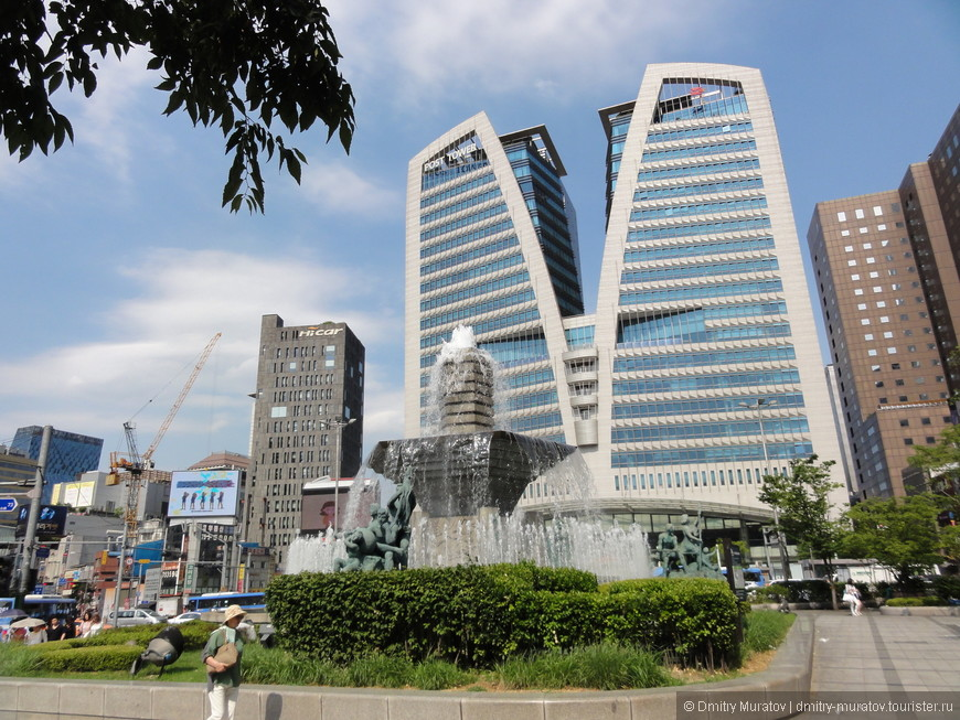 Здание почты Кореи
