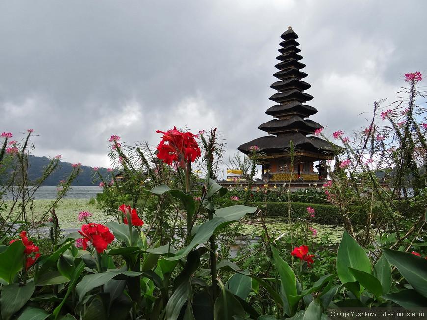 Ну, конечно же, фотоаппарат здесь обязателен... Фотографии храма Улун Дану зачастую становятся визитной карточкой всего путешествия по Бали... )))