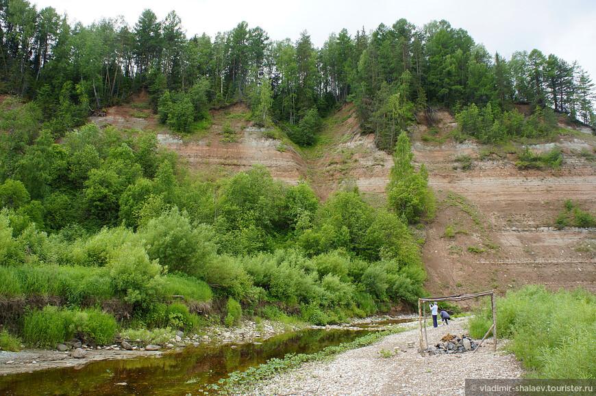 Склон реки Стрельны.