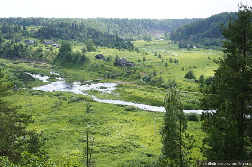 Деревня Анохинское на той же Стрельне, только выше по течению.