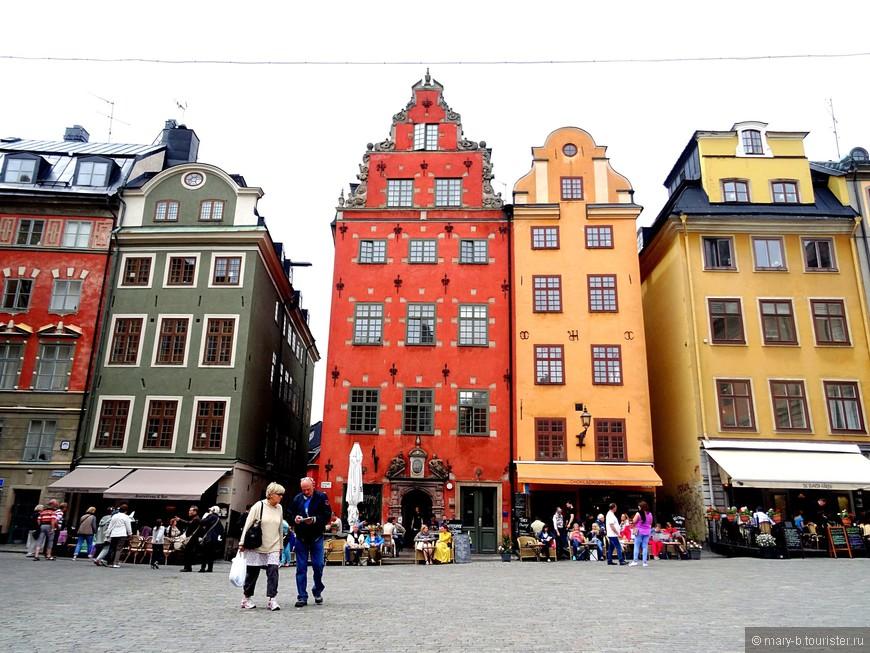 Самый растиражированный, самый открыточный уголок Стокгольма - Сторторгет (торговая площадь)