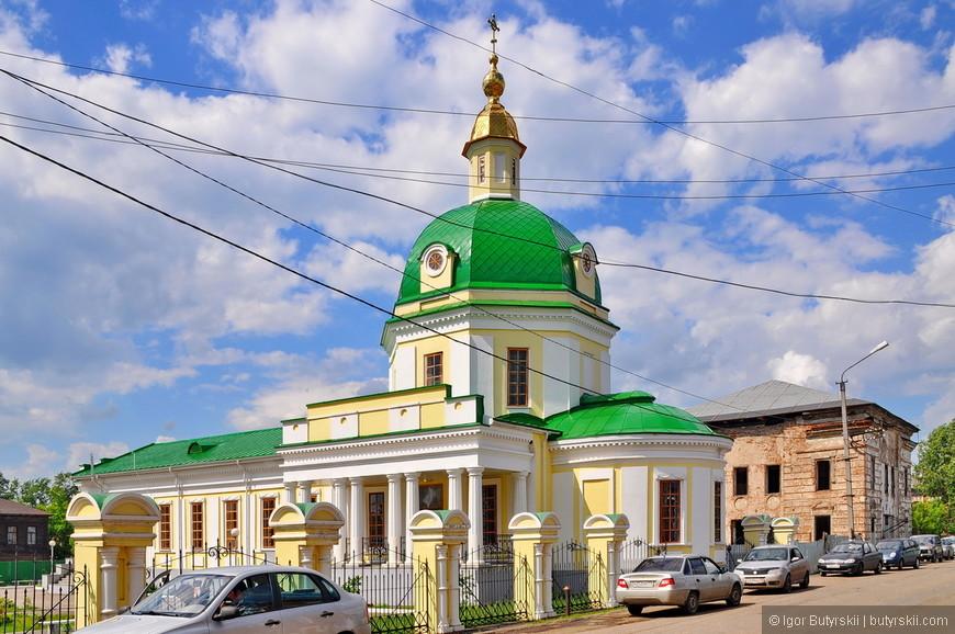 01. Сарапул является самым насыщенным на памятники архитектуры городом в Удмуртии.