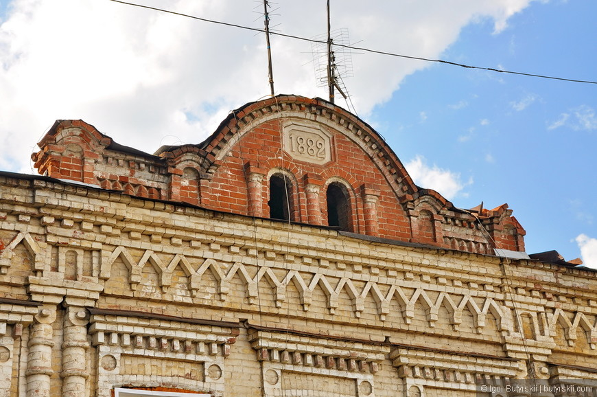 15. Между прочим старое здание.