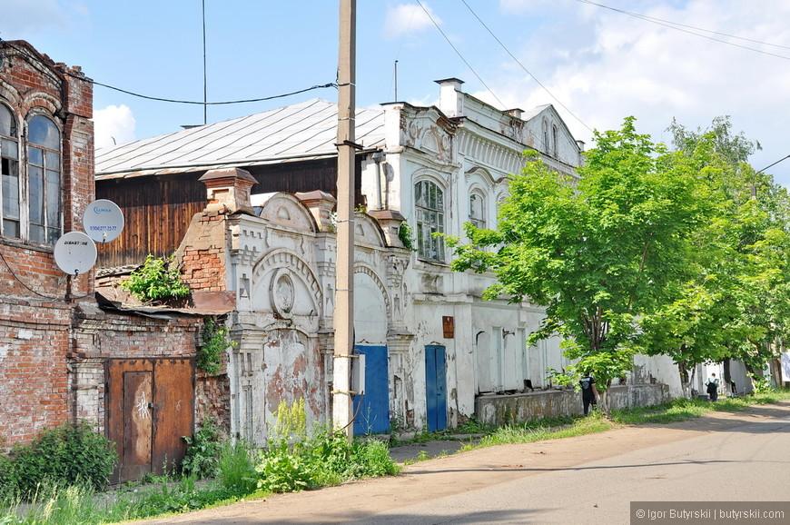 16. Улочки исторического центра Сарапула.