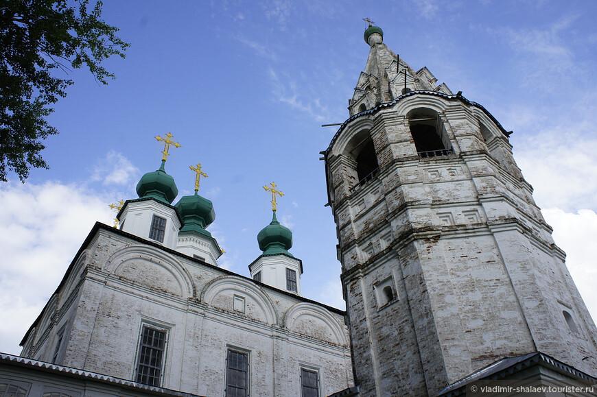 Троицкий собор строился на пожертвования устюжан.