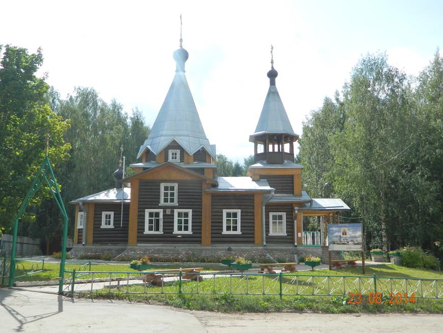 Церковь Сергия Радонежского (новодел)