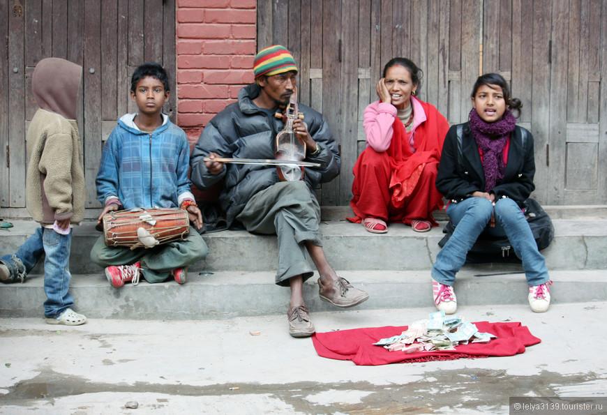 Бродячие артисты Катманду