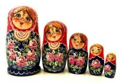 Выставка матрёшки открылась в Москве