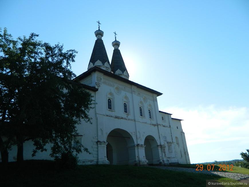 Монастырь был основан в 1397 году святым Ферапонтом