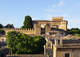 Крепость Градара со смотровой башни