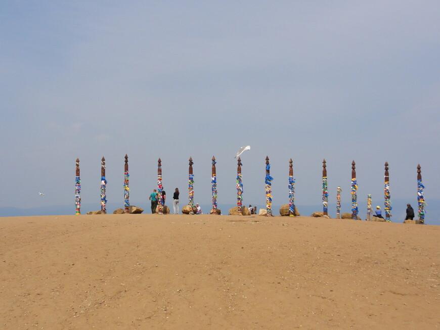 Сакральные столбы на мысе Хобой