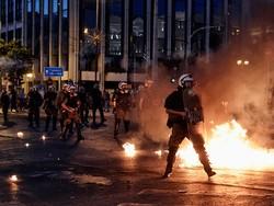 Народные волнения в Афинах продолжаются