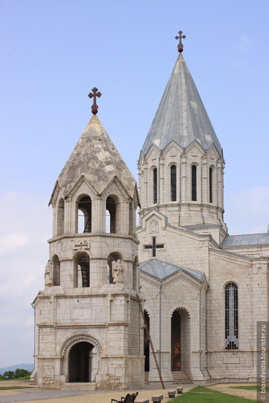 Храм в Шуши (Нагорный Карабах)