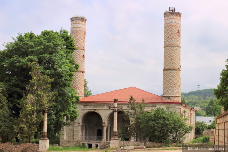 Развалины мечети в Шуши (Нагорный Карабах)
