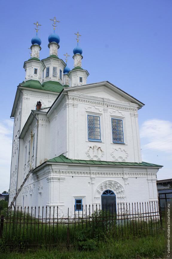 Церковь Троицы в Зеленской (Рыбачьей) слободе построена в 1768 - 1788 гг. тотемским мореходом Степаном Черепановым.