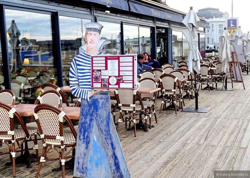 Ресторан с дарами моря на Променад де Планш