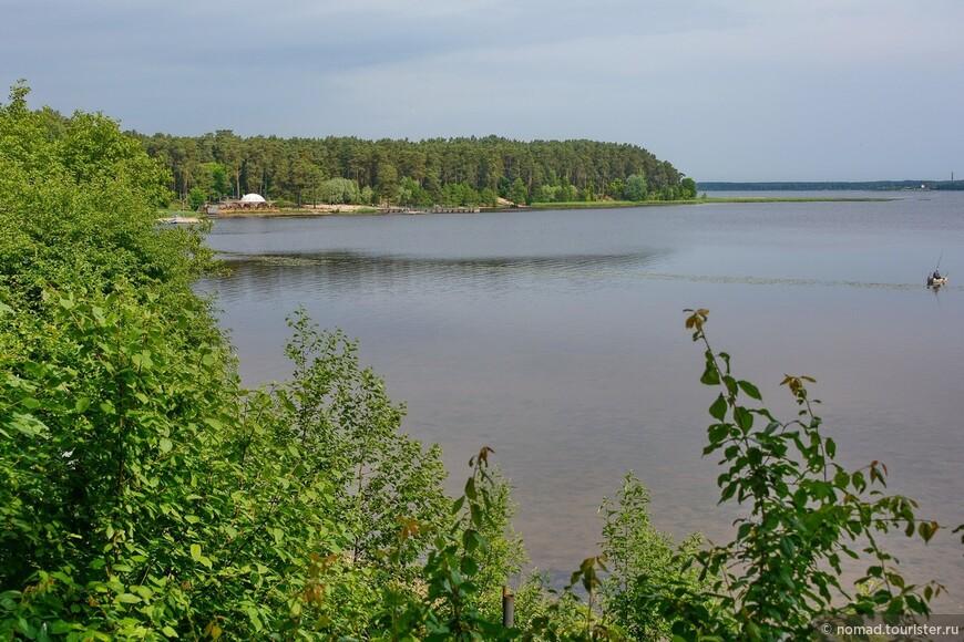 Вид на Киш-озеро