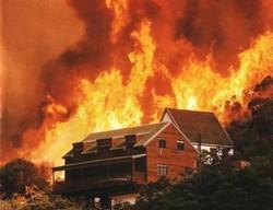 Жители хорватского города Трстеник были эвакуированы из-за пожара