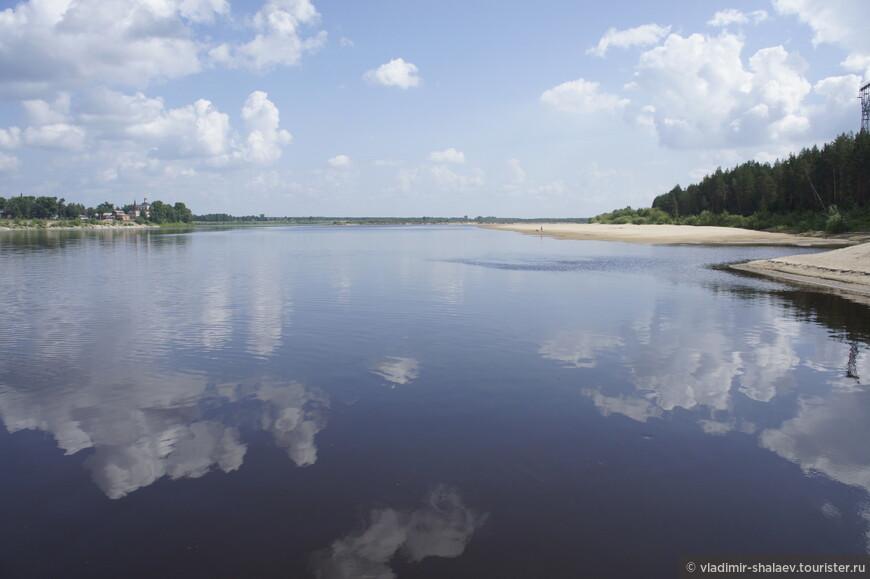 Река Вычегда.